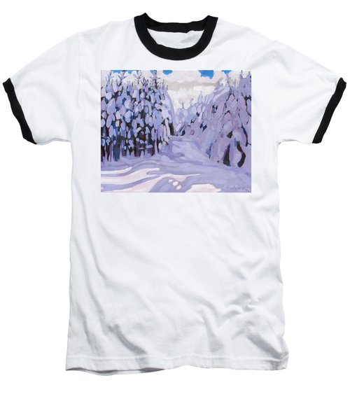 Boughs Before The Wind Baseball T-Shirt