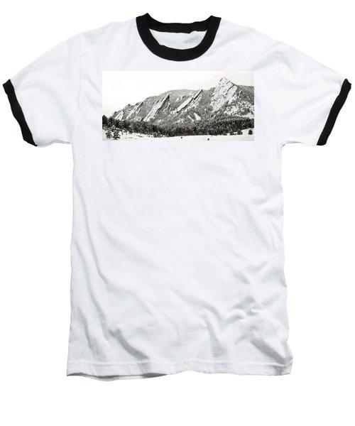 Boulder Flatirons Colorado 1 Baseball T-Shirt