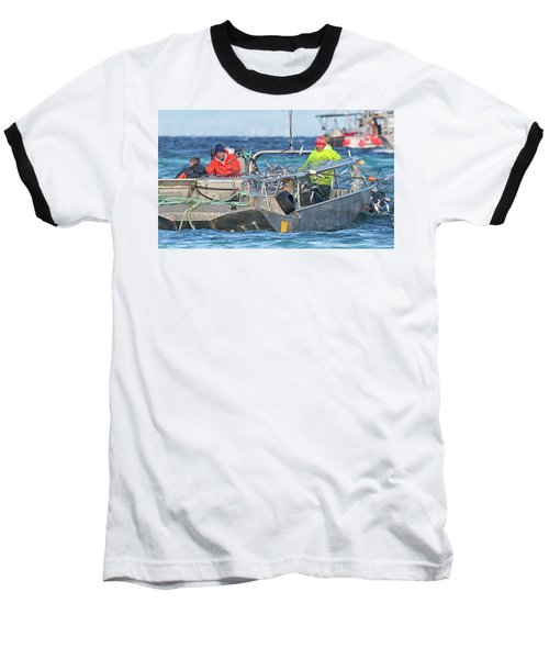 Baseball T-Shirt featuring the photograph Bouncing Herring by Randy Hall