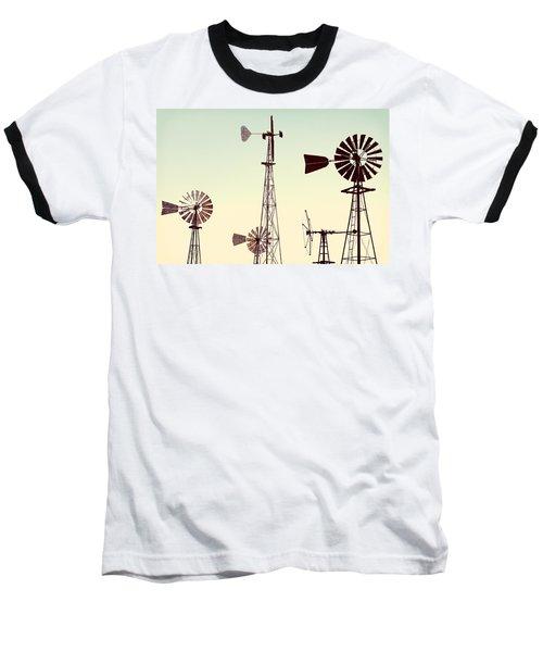 Bountiful Windmills Baseball T-Shirt