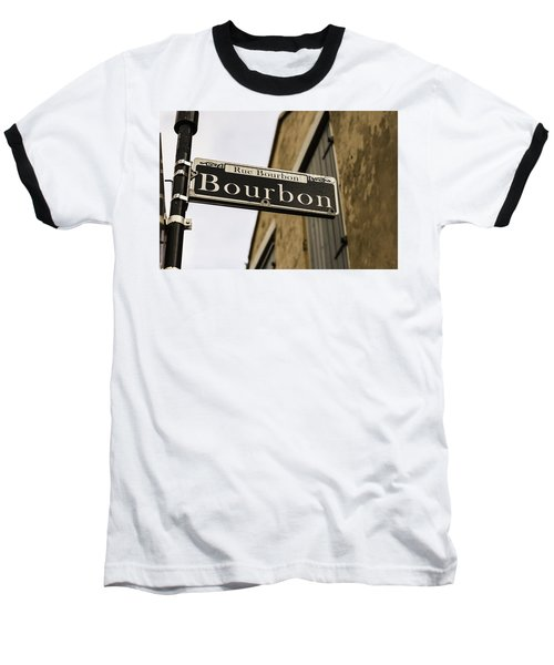 Bourbon Street, New Orleans, Louisiana Baseball T-Shirt