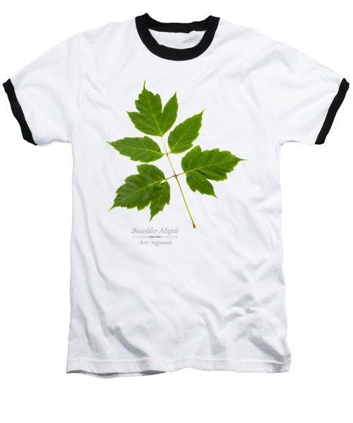 Box Elder Maple Baseball T-Shirt