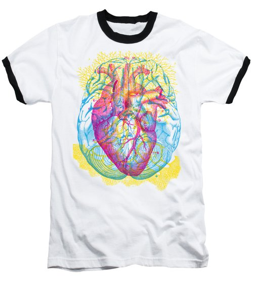 Brain Heart Circulation Baseball T-Shirt
