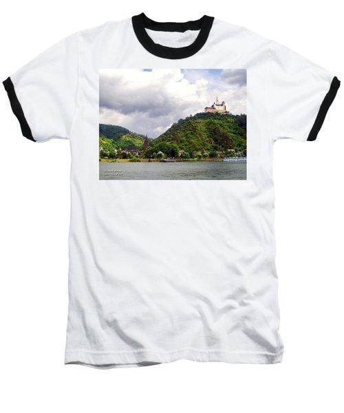 Baseball T-Shirt featuring the photograph Brambach Germany by Joan  Minchak