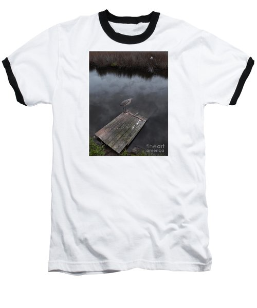 Brave Heron Baseball T-Shirt