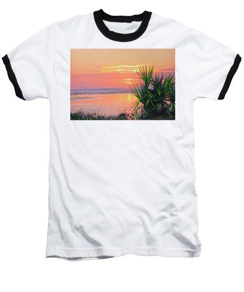 Breach Inlet Sunrise Palmetto  Baseball T-Shirt