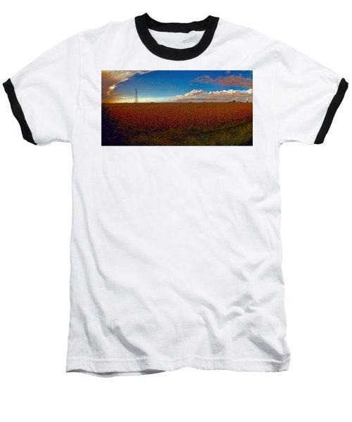 Bread Basket Dusk Baseball T-Shirt by Dave Luebbert