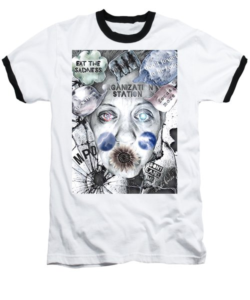 Break Free Baseball T-Shirt by Vennie Kocsis