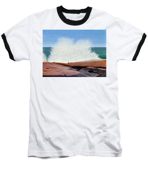 Breakers On Georgian Bay Baseball T-Shirt