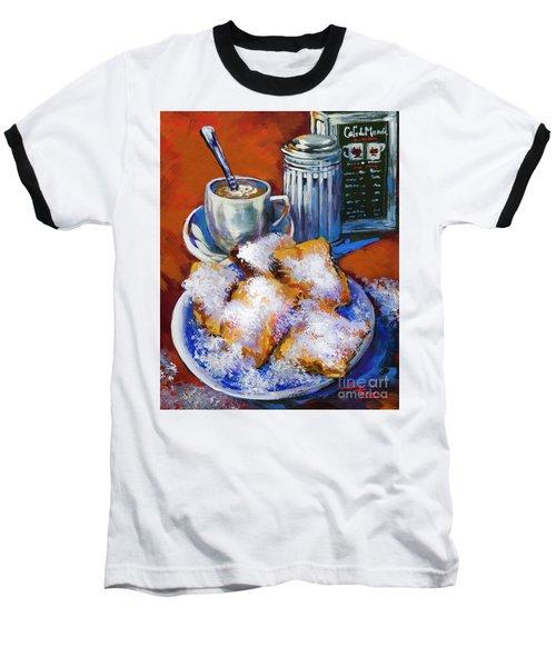Breakfast At Cafe Du Monde Baseball T-Shirt