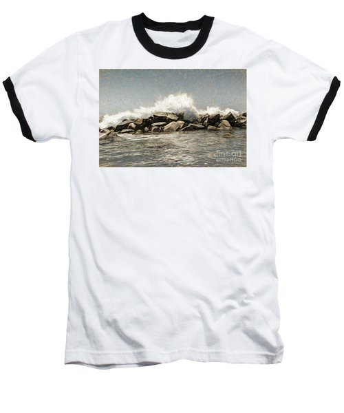 Breakwater 2 Baseball T-Shirt