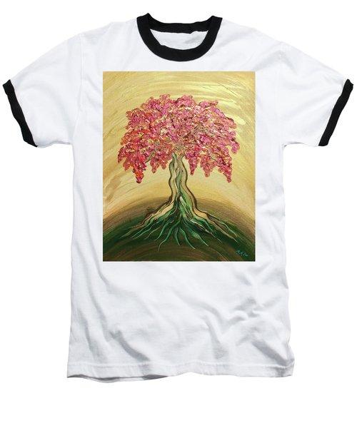 Breathe Golden Peace Baseball T-Shirt