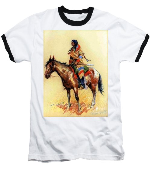 Baseball T-Shirt featuring the painting Breed by Pg Reproductions