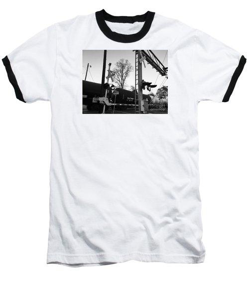 Breeze Black And White Baseball T-Shirt