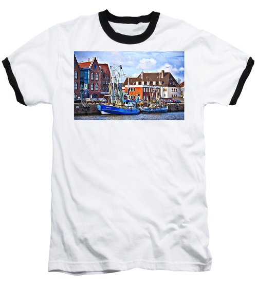 Bremerhaven Harbor, Germany Baseball T-Shirt