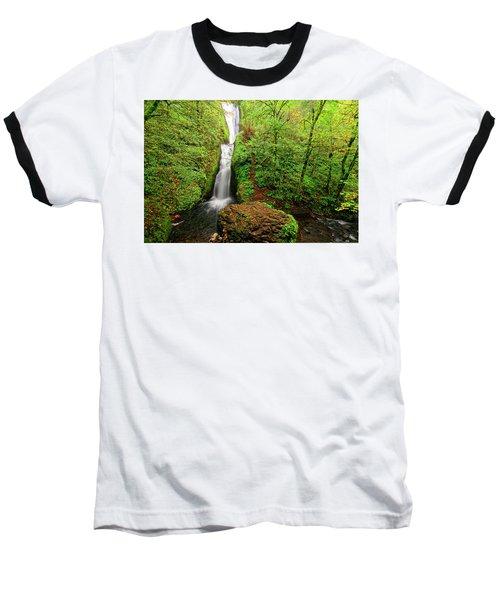 Baseball T-Shirt featuring the photograph Bridal Veil Falls by Jonathan Davison