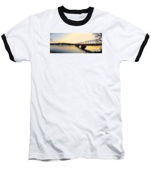 Bridge And New Hope At Sunset Baseball T-Shirt