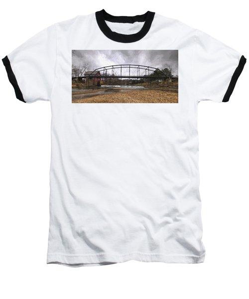 Bridge At The Mill Baseball T-Shirt
