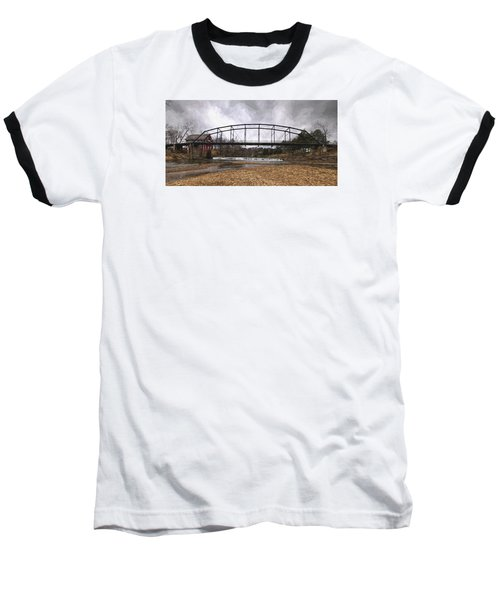 Bridge At The Mill Baseball T-Shirt