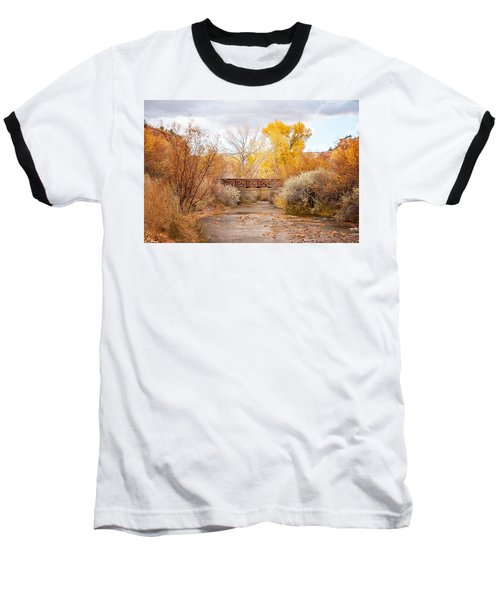 Bridge In Teasdale Baseball T-Shirt