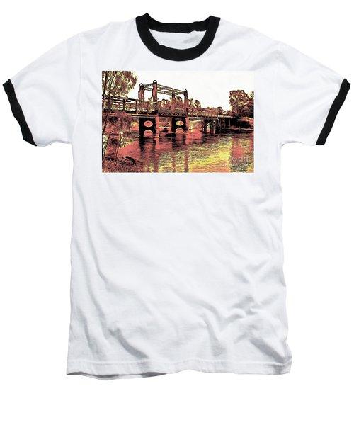 Bridge Over Murray River Baseball T-Shirt