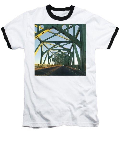 Bridge To Oregom Baseball T-Shirt