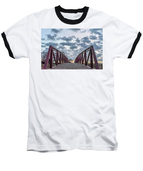 Bridge To The Clouds Baseball T-Shirt