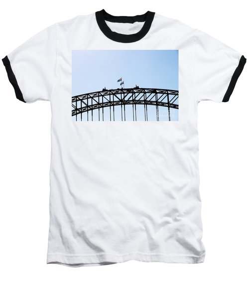 Baseball T-Shirt featuring the photograph Bridge Walk by Stephen Mitchell