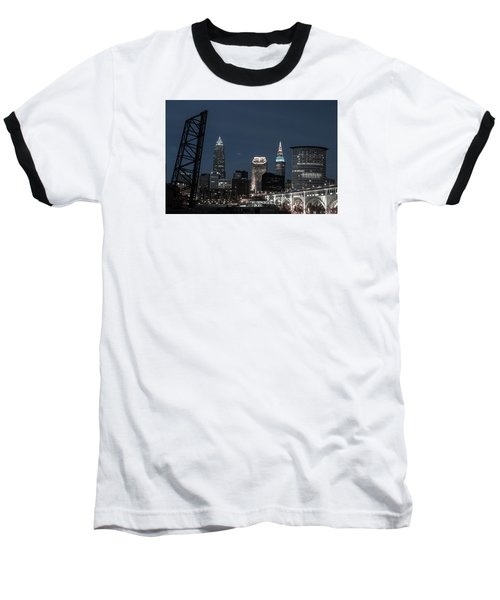 Bridges And Buildings Baseball T-Shirt