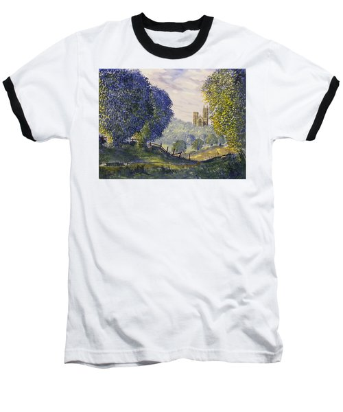 Bridlington Priory From Woldgate On The Hockney Trail Baseball T-Shirt