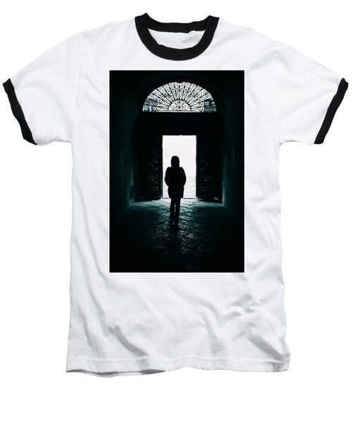 Bright Ancient Doorway Baseball T-Shirt