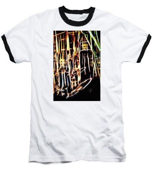 Bright And Strong Baseball T-Shirt by Rajiv Chopra