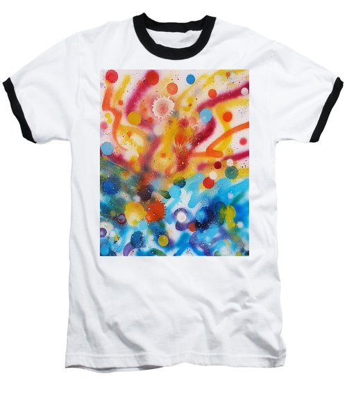 Bringing Life Spray Painting  Baseball T-Shirt