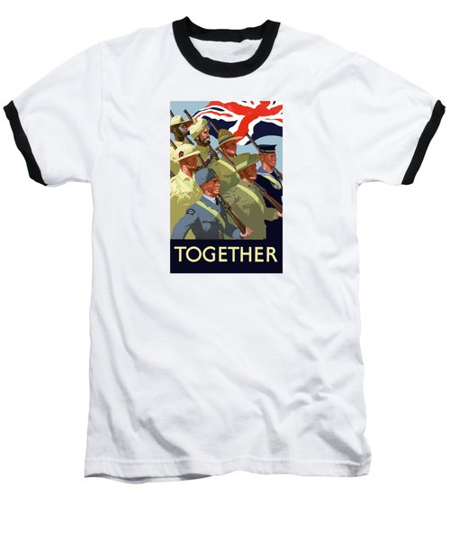 British Empire Soldiers Together Baseball T-Shirt