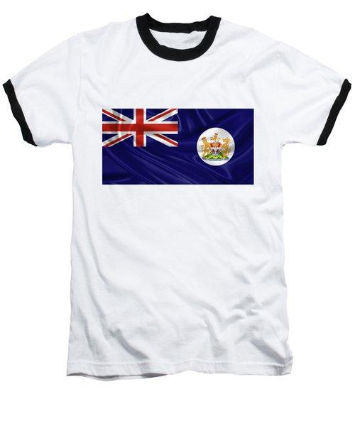 British Hong Kong Flag Baseball T-Shirt