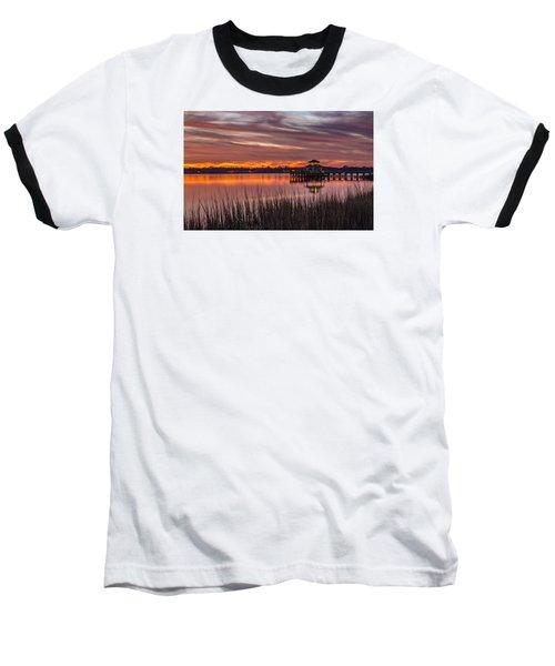 Brittlebank Park Dock Charleston Sc Baseball T-Shirt