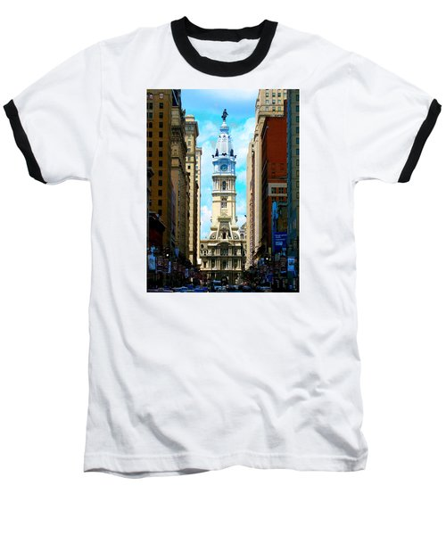 Baseball T-Shirt featuring the photograph Philadelphia by Christopher Woods