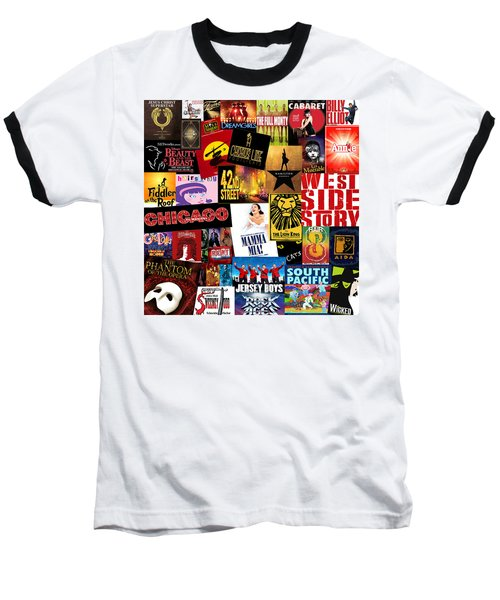 Broadway 10 Baseball T-Shirt by Andrew Fare