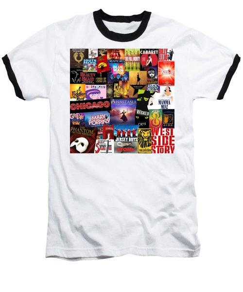Broadway 14 Baseball T-Shirt