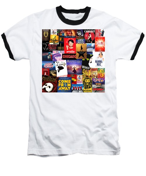 Broadway 15 Baseball T-Shirt