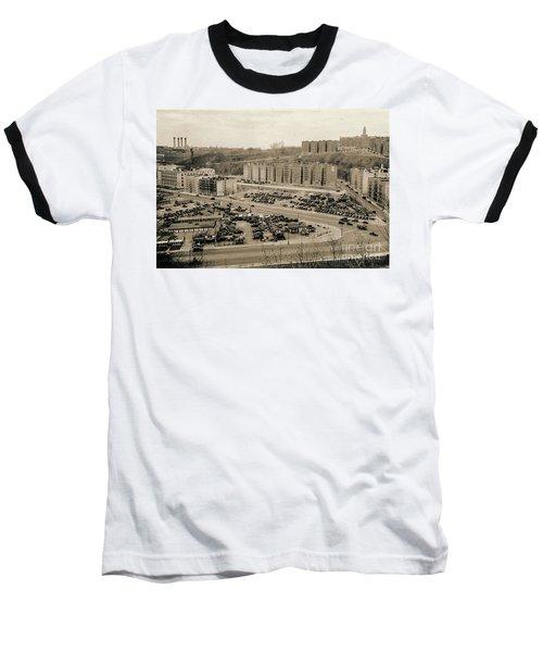 Broadway And Nagle Ave 1936 Baseball T-Shirt