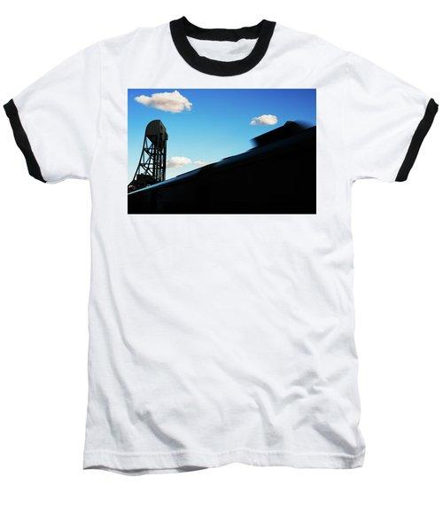 Broadway Bridge Abstract 1 Chromatic Baseball T-Shirt