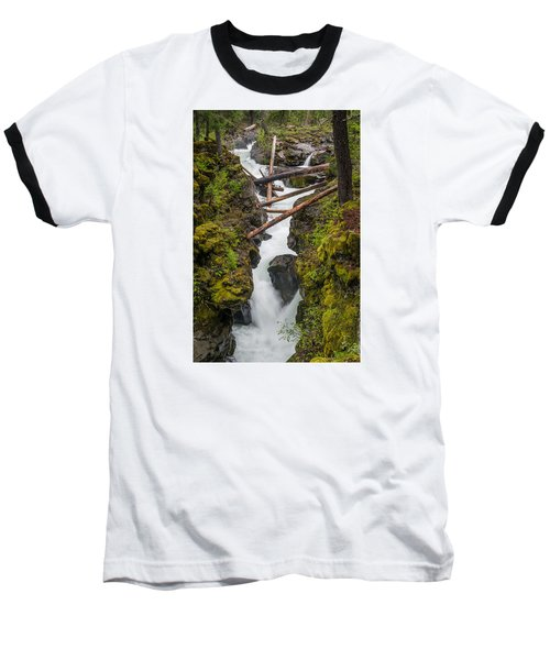Broiling Rogue Gorge Baseball T-Shirt by Greg Nyquist