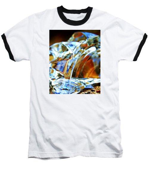 Broken Glass In A Stairwell Baseball T-Shirt