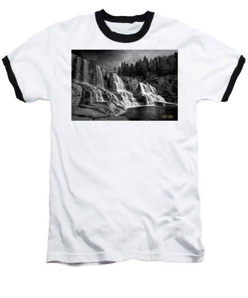 Brooding Gooseberry Falls Baseball T-Shirt