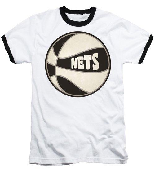 Baseball T-Shirt featuring the photograph Brooklyn Nets Retro Shirt by Joe Hamilton