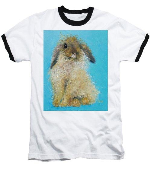 Brown Easter Bunny Baseball T-Shirt