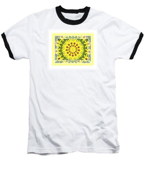 Brown Eyed Susan X2 Baseball T-Shirt