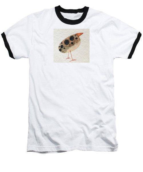 Brown Spotted Bird Baseball T-Shirt