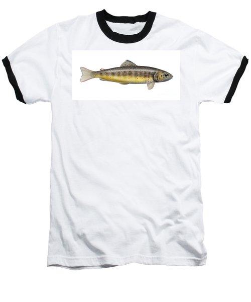 Brown Trout - Autochthonous - Indigenous - Salmo Trutta Morpha Fario - Salmo Trutta Fario Baseball T-Shirt